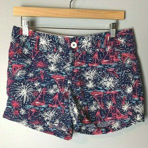 Lilly Pulitzer Callahan Shorts Size 2 Sparks Fly
